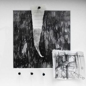 0044 - Laura Zini - cell-omaggio-a-LB-grafite-su-carta-20x20-0044-0044