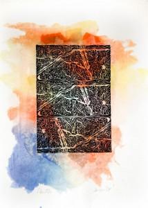 0056 Luigina Iacuzzi - Aperture-serie-Monotipo-linoleografia-con-interventi-cromatici-stampa-inchiostro-a-tre-finestre-con-rotazione-della-matrice-0056-0056