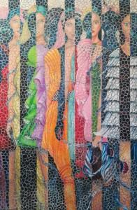 0007 Angela Kacciotti - Belle-Fuori-II-olio-su-tela-150x100-0007