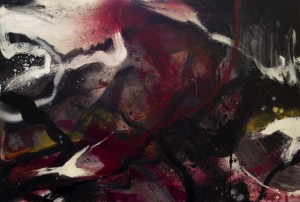 0013 Arianna Meini - Stratific.Action-Acrilico-Spray-Smalto-su-tela-120x80-0013