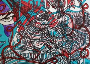 0019 Claudio Torino - Diabolik-a-Napoli-acrilico-su-tela-80x100-0019