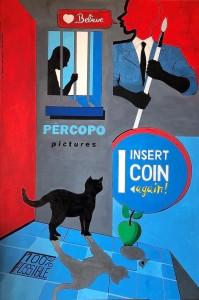 0037 Gennaro Percopo - Cat-WoMAN-dim.-120x80-cm-Tecnica-Acrilico-su-Tela-2.2020-0037