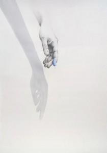 0055 Letizia Ballotti - Blu-Matita-su-carta-50x70-0055