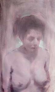 0090 Pantaleo Ragno - Memoria-di-ritratto-nudo-olio-su-tela-40x70cm-0090