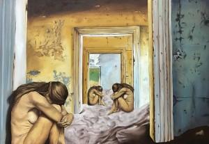 0107 Sofia Fresia - L'età-delle-scelte-olio-su-tela-90x60cm-0107